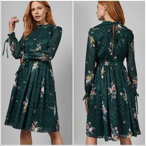 $350 Ted Baker Elegant Midi Dress